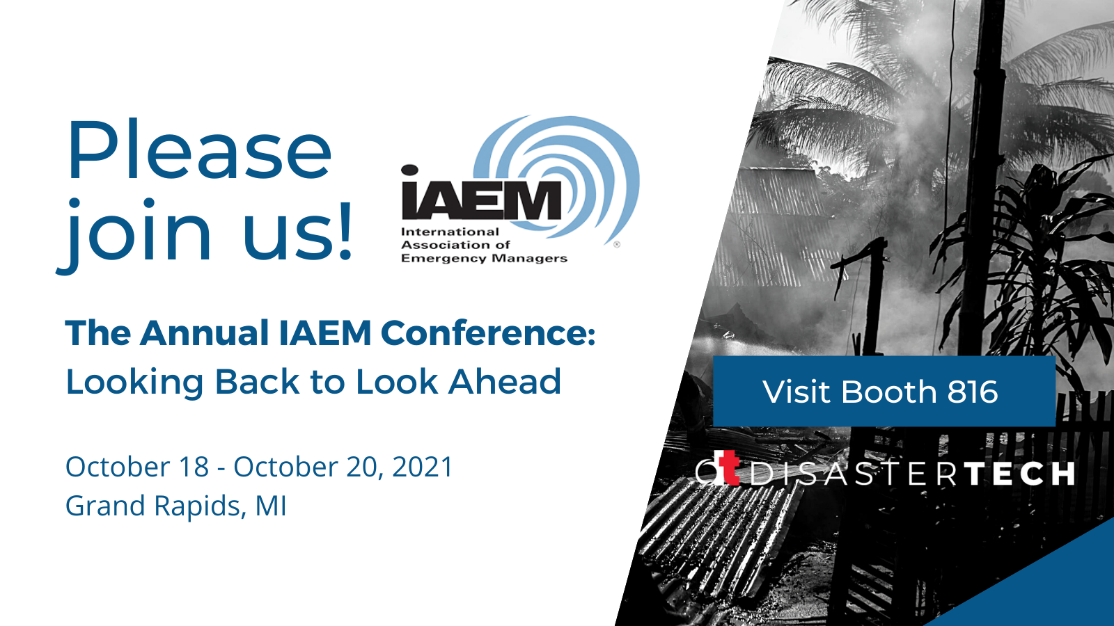 Join Us for the IAEM 2021 Conference in Grand Rapids, MI